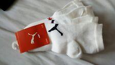 BNIP Three Pairs Puma Childrens boys girls Trainer Socks