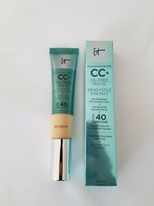 IT Cosmetics Your Skin But Better CC+Cream Oil-Free Matte SPF 40-LIGHT or MEDIUM