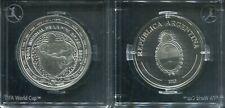 ARGENTINIEN 2013 - 5 Pesos in Silber, PP - FIFA FUSSBALL WM BRASILIEN 2014