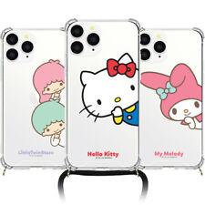 Genuine Hello Kitty Friends Peeking Phone Strap Case Galaxy Note20 Note20 Ultra