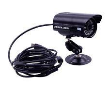 Indoor Outdoor USB Bullet CCTV Camera IR Night Vision Waterproof Security Kamera