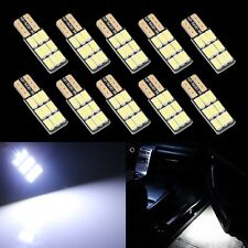 10pcs White T10 168 194 W5W 9 SMD 5630 Car Led Light Canbus Error Free Bulbs