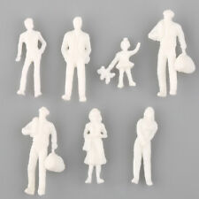 100pcs Figures 1 200 Scaled for Models Train Building Unpainted People Layout