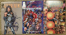 CyberForce: Zero (1993); Universe Sourcebook (1994) & Origins #1 (1995) (VF/NM)