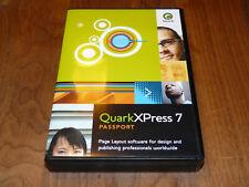 QuarkXpress 7 WIN/MAC Vollversion, 5-User-Sitelizenz deu/multi