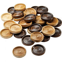 Wooden Checkers, Set of 24, free shipping