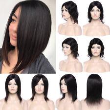 100 Real Brazilian Human Hair Wig Short Medium Straight Wavy Curly Full Wigs P20