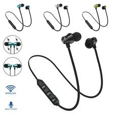 Bluetooth 4.2 Earphone Headset Wireless . Phone All For Earbud Magnetic Stereo