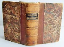 1853 1st ed THE POETICAL WORKS OF JAMES RUSSELL LOWELL & OLIVER WENDELL HOLMES