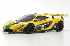 Kyosho - MINI-Z McLaren P1 GTR RTR, Yellow/Green, w/ MR-03 Chassis, RWD