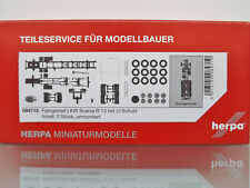 Herpa 084710 Chassis SCANIA R 4-achs Truck With U Protection 1 87