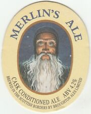 UNUSED BEERMAT - BROUGHTON ALES - MERLIN'S ALE - (Cat 013) - (1996)
