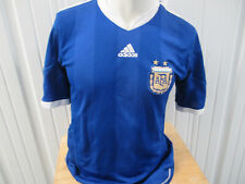 VINTAGE ADIDAS ARGENTINA NATIONAL FOOTBALL TEAM MEDIUM SEWN JERSEY 2009/11 KIT