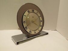 1936 Art Deco Telechron Mirrored Electric Clock