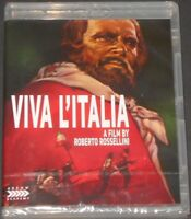 ROBERTO ROSSELLINI viva l'italia USA BLU-RAY new sealed GIUSEPPE GARIBALDI arrow