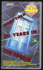 DR DOCTOR WHO - MORE THAN 30 YEARS IN THE TARDIS - BBC - VHS PAL (UK) VIDEO