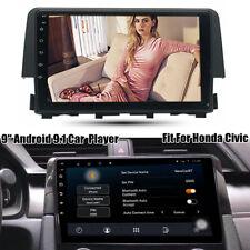 "For Honda Civic 2016-18 9""Android 9.1 Car GPS Navigation DAB+Radio Stereo Player"