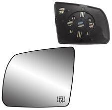 2007-2014 Toyota Sequoia Tundra Driver Side Heat Power Mirror Glass w/Backing