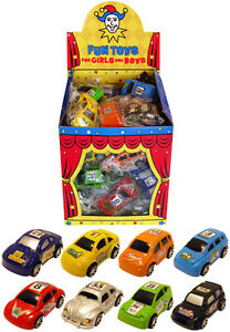 Mini Pull Back Cars Kidz Party Bag stocking Loot Fillers Favor Toys Boys Play UK