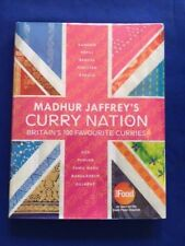 MADHUR JAFFREY'S CURRY NATION. BRITAIN'S 100 FAVOURITE CURRIES - 1ST. INSCRIBED