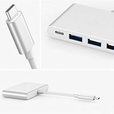 NEW Type C USB 3.1 to USB-C HDMI USB3.0 Adapter 4 in 1 Hub For Apple Macbook #