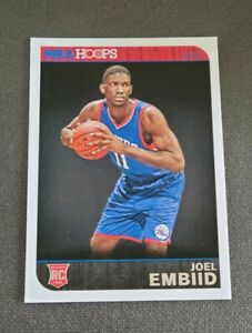 2014-15 Hoops #263 Joel Embiid RC D CHC