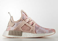 Womens Adidas NMD XR1 Nomad Runner Yeezy Sneakers New, Pink Duck Camo BA7753