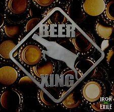 Beer Crossing Funny Mancave Bar Pub Pool Dorm Room Wall Art Metal Sign Gift Idea