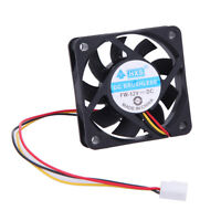 12V DC PC 6cm 60mm x 15mm Ball Bearing PC CPU Case Cooling Fan 3 Pin Connector