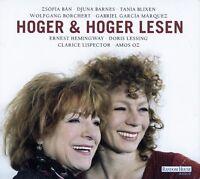 HOGER & HOGER LESEN - DIVERSE ERZÄHLUNGEN / 2 CD-SET (HÖRBUCH)