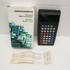 Commodore SR-1800 Vintage Scientific Calculator Rare Green Display WORKS GREAT