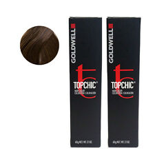 Goldwell Topchic Permanent Hair Color Tubes 6GB - Dark Blonde Gold Brown *2 SET*