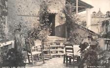 RPPC MEXICO HOTEL LOS ARCOS TAXCO REAL PHOTO POSTCARD (c. 1940s)