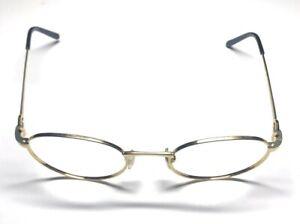 Cartier 135 France 49[]20 Gold Eyeglasses / Frames / Sunglasses 21D