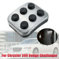 Left Fuel Emergency Brake Pedal Pad Stainless & Rubber For Chrysler 300 Dodge US