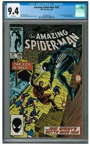 Amazing Spider-Man #265 (1985) Key 1st Appearance Silver Sable CGC 9.4 AA756