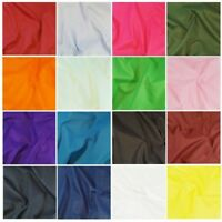 240cm Wide Plain Polycotton Sheeting Fabric Plain Bed Material Extra Wide