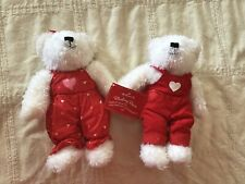 Hallmark Blushing Bears Kissing magnet Nwt