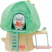 San-x Sumikko Gurashi Plush life scene Tree House ver. MR96801 190 From japan