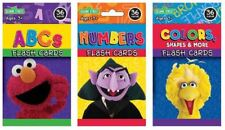 Sesame Street Flash Cards Pack of 3