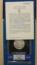 1879-CC Morgan 1 Dollar Silver BU UNC NGC MS-63 GSA Capped Die