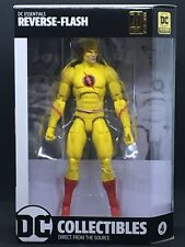 DC ESSENTIAL REVERSE Flash Action Figure Nuovo