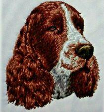 English Springer Spaniel Dog Breed Bathroom Set Of 2 Hand Towels Embroidered