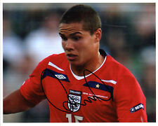 JACK RODWELL IN ENGLAND STRIP HAND SIGNED COLOUR PHOTOGRAPH 10 x 8