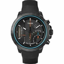 Timex Intelligent Quartz IQ T Series Linear Chronograph Gents Black Watch T2P272