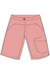 Maloja Girl Multisportshort Trousers Ebbiag. Multisport Shorts Pink Plain Colour