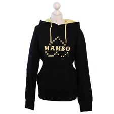 Mambo Goddess Hoodie, Size 8, Black and Buttercup