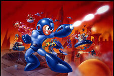 Megaman -  Wall Poster - Huge - 22 in x 34 in - Fast shipping 001