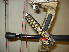 On Target Bow Wrist Sling in Your Choice of Colors w/Skulls for compound bows