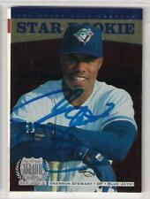 Toronto Blue Jays SHANNON STEWART signed 1996 Upper Deck